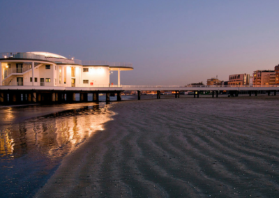 Senigallia (An) - Rotonda e spiaggia
